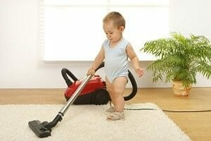 18 Months Olds Cleaning